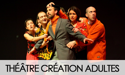 THEATRE CREATION ADULTES AVEC ALAIN DAFFOS