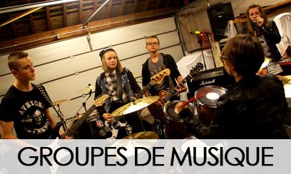 GROUPES DE MUSIQUE
