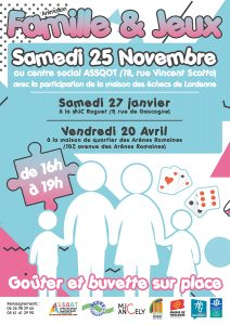 Animation Familles et Jeux
