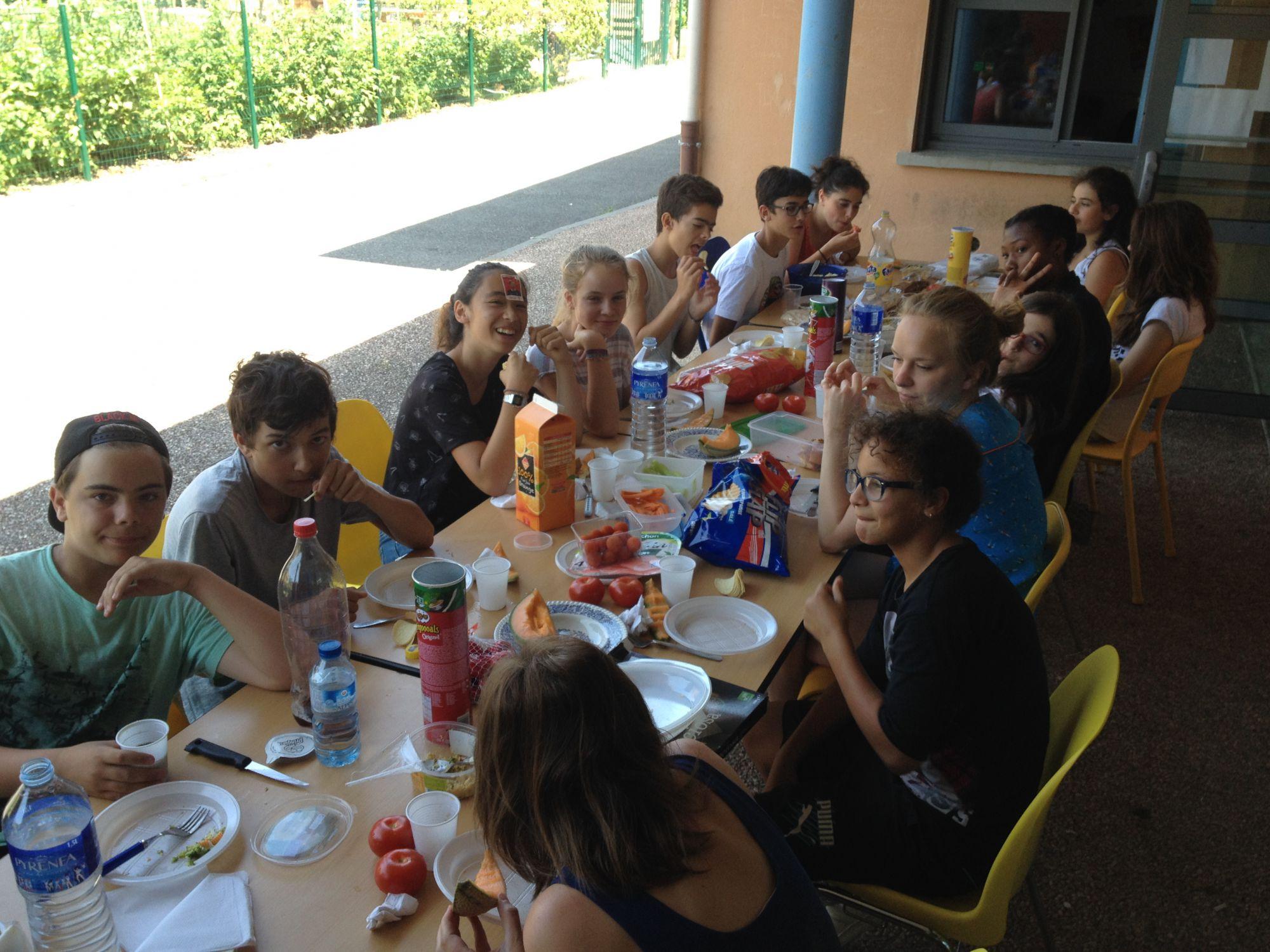 Un bon repas collectif