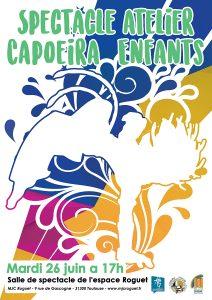 Spectacle atelier Capoeira