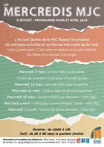 Les mercredis MJC pour les jeunes