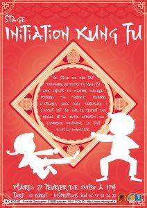 Stage Kung Fu Enfants