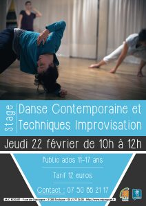 Stage Danse Contemporaine Ados
