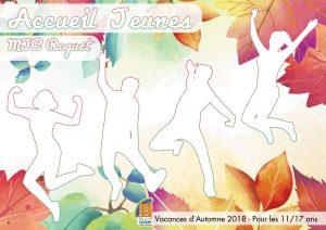 Accueil Jeunes : le programme des vacances d'Automne