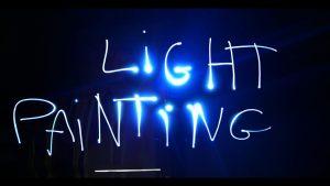 Découvrez le light painting le 12 juillet