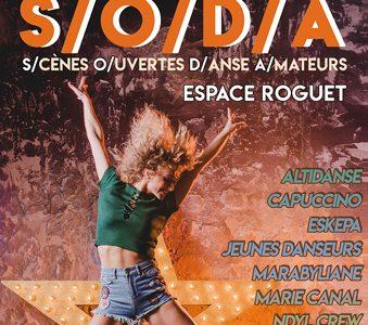 SODA – Scènes Ouvertes Danse Amateurs – 1ère édition – 13 Mai 2018