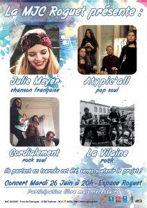 Concert de soutien Les Jeunes Poussent !