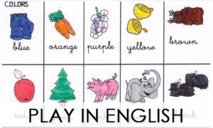 PLAY IN ENGLISH