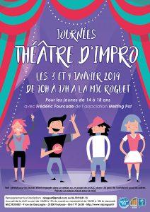 Stage de théâtre d'impro pour les 14-18 ans