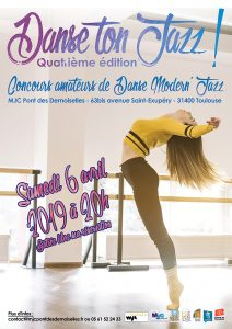 Danse ton Jazz le 6 avril