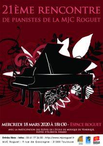 21ème Rencontre des Pianistes
