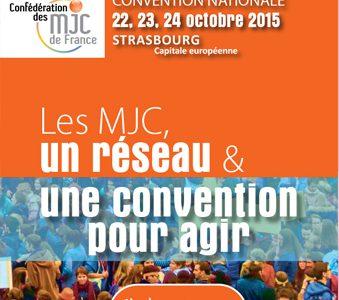 La convention nationale de la Confédération des MJC à Strasbourg