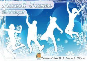 Accueil Jeunes : le programme des vacances d'Hiver