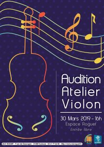 Audition atelier Violon