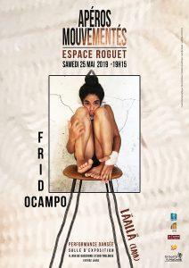 Apéros Mouvementés avec Frida Ocampo