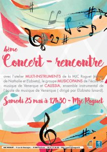 Concert atelier Multi-instruments