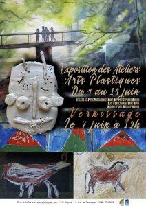 Vernissage expo ateliers Arts Plastiques