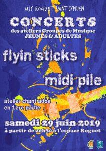 Concert ateliers Groupes de Musique et Chant Ados