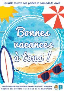 Bonnes vacances d'été !