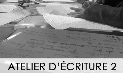 Atelier d'écriture 2020-2021