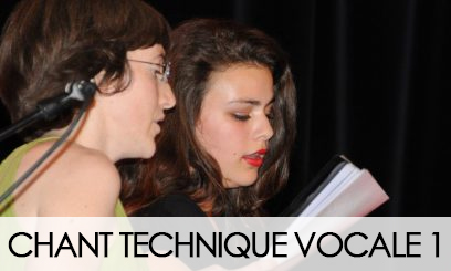 Chant Technique Vocale 2020-2021