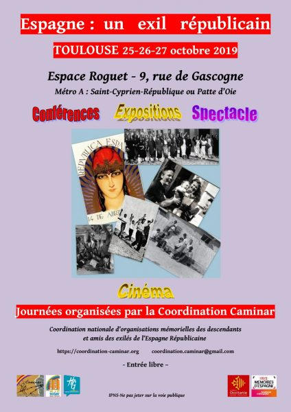 affiche-colloque-journees-caminar-25-26-27-oct-2019-toulouse