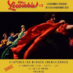 Master class danses colombiennes avec Carolina Mahecha Quintero