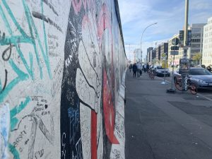Au pied du mur … de Berlin