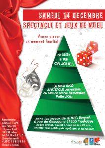 Spectacle et jeux de Noël