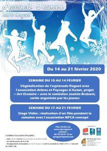 Le programme des vacances d'Hiver pour les jeunes