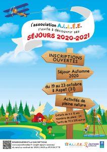 Un séjour pour les enfants avec l'association ALLEE