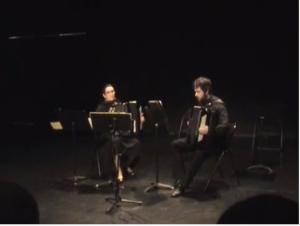 Récital d'accordéon, le film