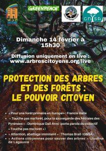 Intervention «Les arbres aux citoyens» le 14 février