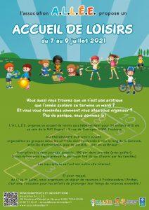 Un Accueil de Loisirs pour les 6-12 ans du 7 au 9 juillet