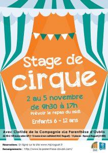 Stage de Cirque pour les 6-12 ans
