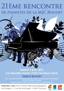 Rencontre de Pianistes le 5 juin