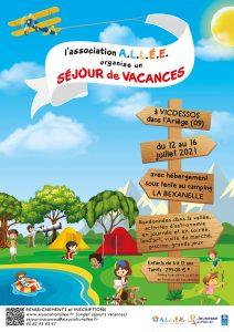 Un séjour pour les enfants cet été avec l'association ALLEE