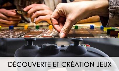Découverte & création de jeux 2021-2022