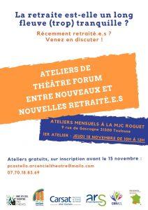 Atelier de théâtre-forum avec Arc-en-ciel